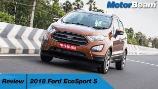 2018 Ford EcoSport S Review - Boost Is The Secret | MotorBeam