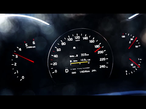 Kia Sorento 2.2 CRDi Acceleration 0-100 top speed test