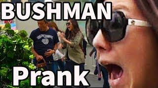 THE FUNNIEST BUSHMAN SCARE PRANKS EVER - NEW BUSHMAN PRANK S05E04 #lasvegas #funnyvideo