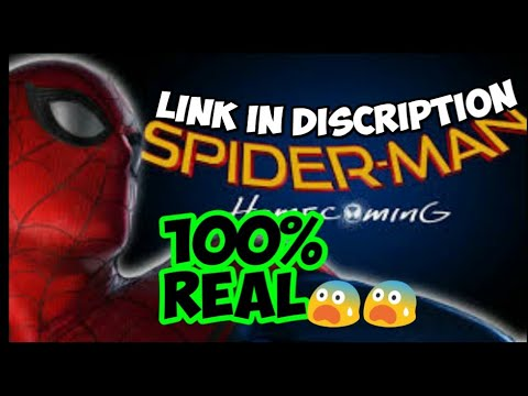 Spiderman homecoming game in android realeased link download ad 100% real 😨😨