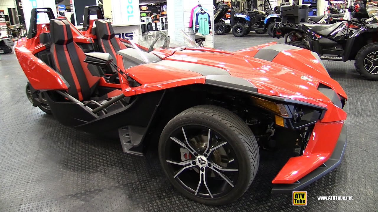 2015 Polaris Slingshot Trike Extirior Interior