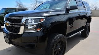Used 2015 Chevrolet Tahoe LT Lifted Leather