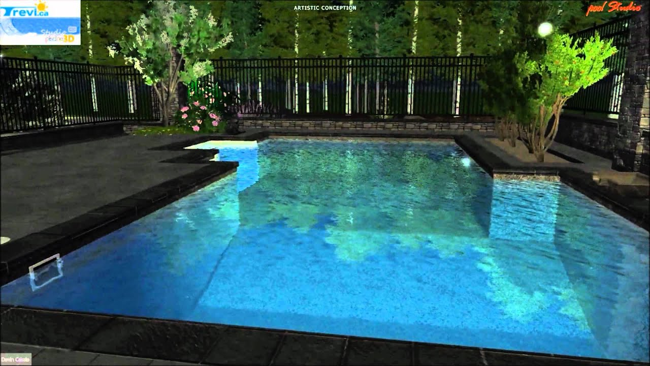Piscine trevi fuzion onyx youtube for Trevi pools