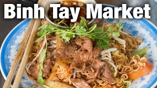 Binh Tay Market and Tour of Saigon