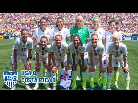 WNT vs. Costa Rica: Highlights - Aug. 16, 2015