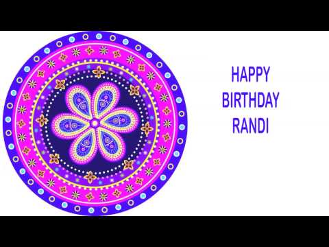 Randi   Indian Designs - Happy Birthday video