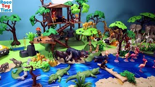 Playmobil Animals in the Safari Set - Fun Toys For Kids Video