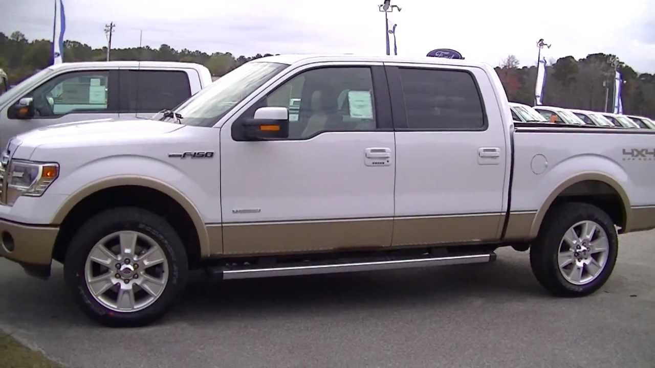 2013 ford f150 lariat supercrew 4x4 review truck videos 98 over invoice ravenel ford