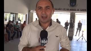 Batalhão da PM de Serra Talhada recebe crianças e adolescentes