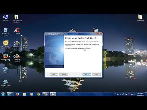 Desinstalar e Instalar K-lite Codec Pack (RECOMENDADO)
