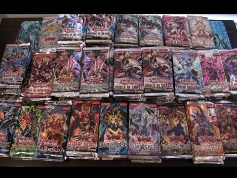 Opening 160 Yugioh Random Packs My Biggest Opening On Youtube Epic Holos video
