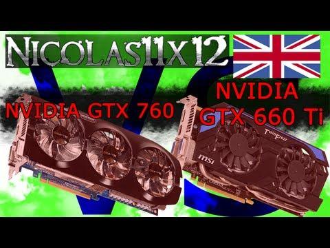 NVIDIA GTX 760 vs GTX 660 Ti
