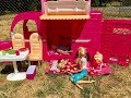 Barbie CAMPER Barbie Family Goes CAMPING mp3