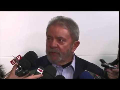 Lula fala sobre a morte de Eduardo Campos