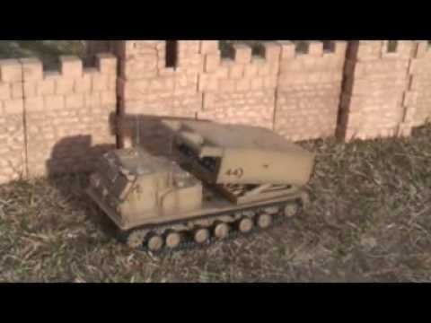 2-USA Made Tattoo Machine RC TANK HQ review footage of Unimax's new Forces of Valor 1/24 scale