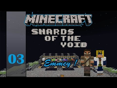 Minecraft Adventure Map [ Türkce ] - Shards of the Void - # 03 - Zümrüt ve Kiziltas Gezegeni