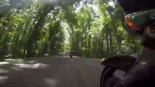 First ride with my Go Pro 4 Black, Hill Pond State Park, TN