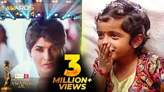 Aradhana's Cute Reaction to Sivakarthikeyan AV | Galatta Debut Awards 2018