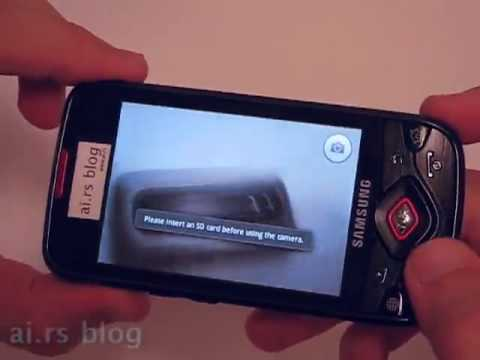 Samsung I5700 Galaxy Lite aka Spica - test sample preview by ai.rs blog