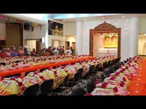 Shri Krishna Pranami Dharma Mahotsav, Christiana, TN - Opening Day Aarati