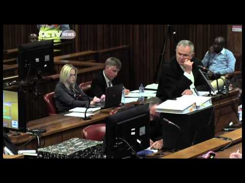 Oscar Pistorius' trial adjourned after the athlete broke down