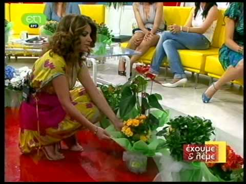 Marion Mixelidaki sits on her shoes! Μάριον Μιχελιδάκη, Έχουμε και λέμε