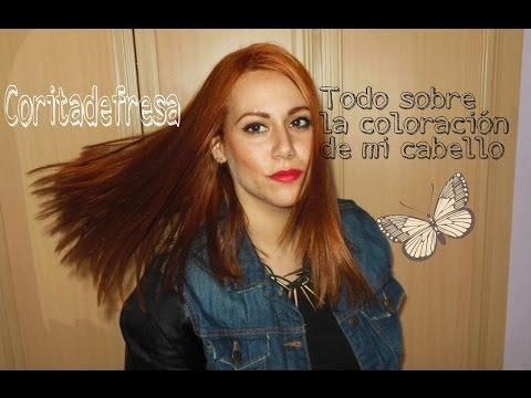 Todo sobre mi coloración de cabello
