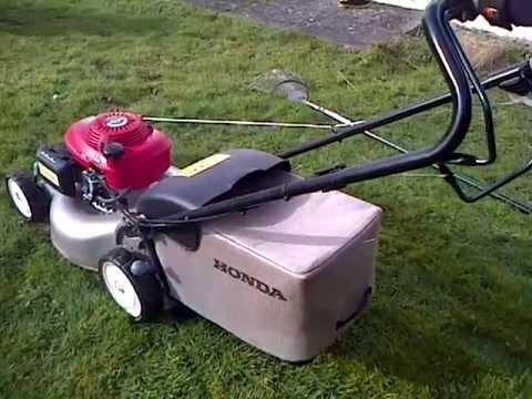 Starting Honda Izy Mower Youtube