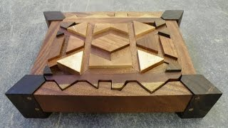 Woodworking - Making a segmented box