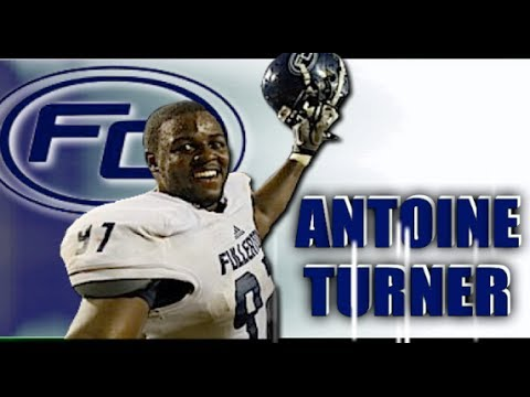 Antoine Turner : Fullerton College (CA) Highlights