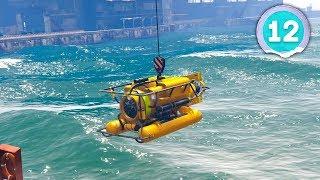 SUB-MARINE HEIST - Grand Theft Auto 5 - Part 12
