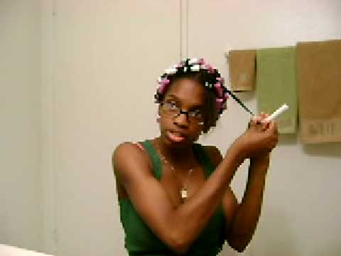 Transition Hairstyle: Twist-N-Curl Pt.1