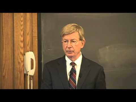 Buckley Program at Yale Lecture Series, George Will, Part 1