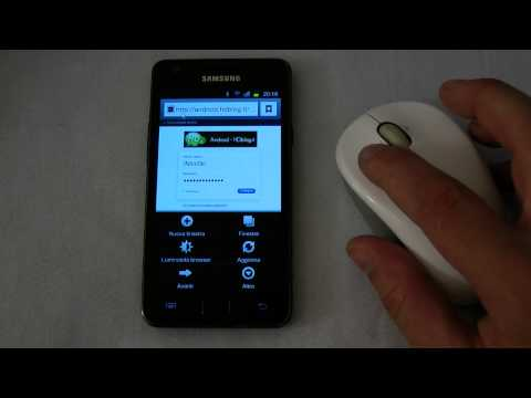How to: Control Galaxy S2 with a Logitech bluetooth mouse