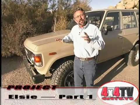 ARB Old Man Emu Lift Install Toyota Land Cruiser FJ60 - Project 4x4TV LC P1