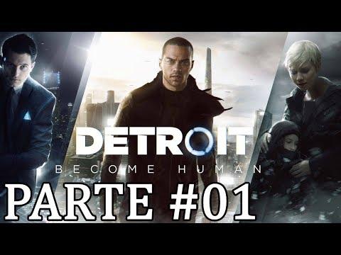 Detroit. Become Human PS4 Pro. Gameplay. Dublado e Legendado PT.BR. PARTE 01