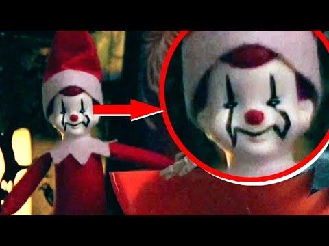 Halloween Elf On The Shelf Caught Moving Eyes on Camera