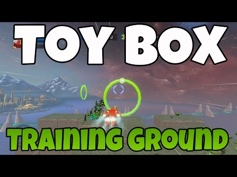 Disney infinity toy box training ground part 2 of 2 marvel super