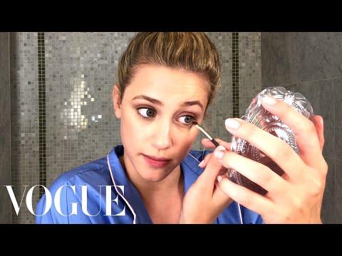 Riverdale Star Lili Reinhart's Guide to Fresh-Faced Makeup   Beauty Secrets   Vogue