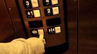 Schindler 330A HIGHdraulic Elevators at Hilton Garden Inn in Houston, TX.