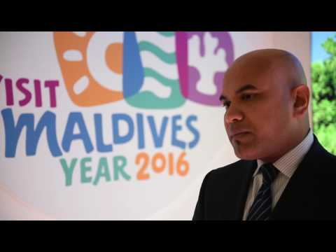WTM 2016: Ahmed Shiaan, ambassador UK & European Union, Maldives