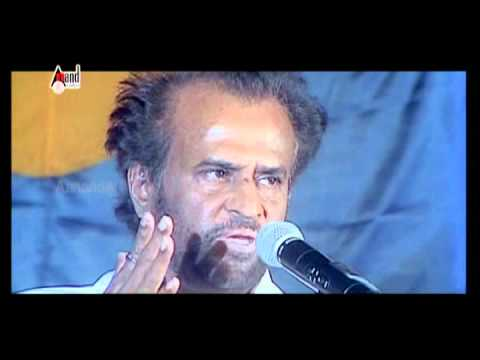 Rajnikanth speech About Puneeth Rajkumar at APPU 100 days Function .avi