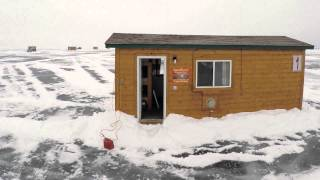 Ice Fishing on Lake Mille Lacs Video