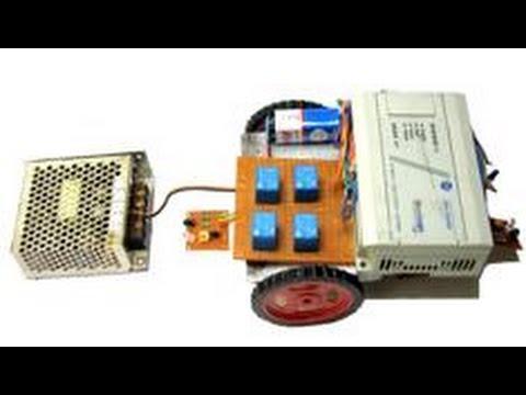 Plc Based Automatic Guided Vehicle | ATGV Using PLC