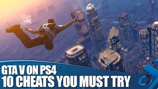GTA V PS4 Cheats: 10 Grand Theft Auto V Cheats You Must Try