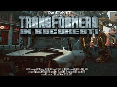 Transformers in Bucuresti (parodie) - DANI pe NET parody