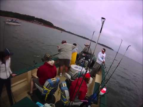 Clip 10: Lake Texoma Striper & Large Catfish