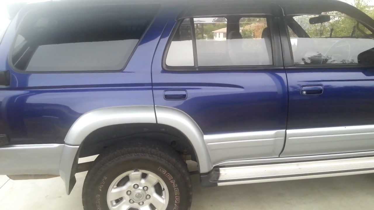 My Toyota Hilux Surf Kzn185 1kz Te Youtube