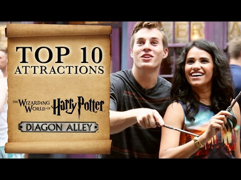 Top Ten - The Wizarding World of Harry Potter Diagon Alley - HD