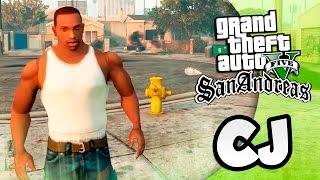 GTA 5 Моды: San Andreas  в GTA 5 - CJ (carl johnson)